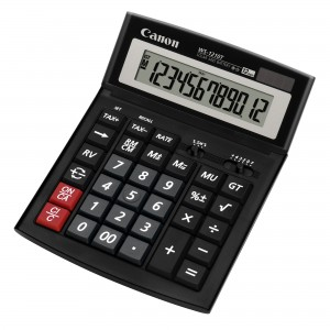 Calculator de birou 12 digiti Canon WS1210T