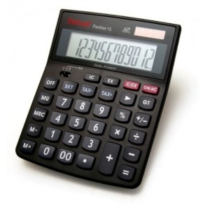 Calculator de birou 12 digiti Rebell Panther 12