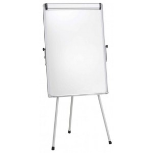Flipchart whiteboard magnetic 70 x 100 cm