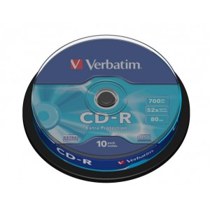 CD-R Verbatim spindle 10 bucati