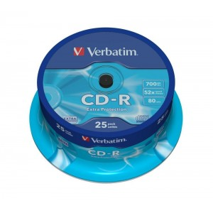 CD-R Verbatim spindle 25 bucati