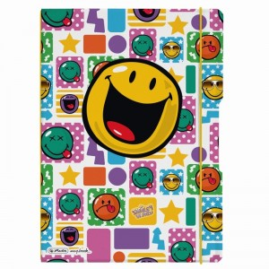 Caiet A4 2x40 file Herlitz My Book Flex Smiley Rock