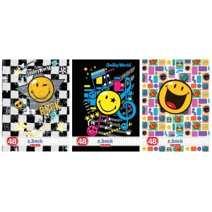 Caiet A5 48 file matematica Herlitz Smiley