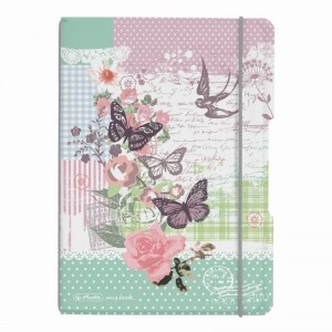 Caiet A5 2x40 file Herlitz My Book Flex Bloom