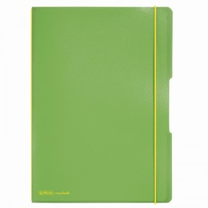 Caiet My Book Flex A4 2x40 file verde deschis Herlitz