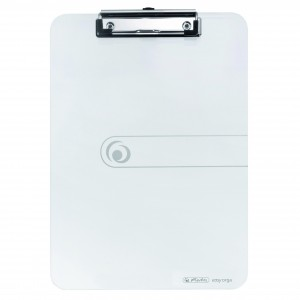 Clipboard simplu A4 Herlitz Easy Orga transparent