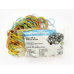 Elastice 45 mm 100g Office Point