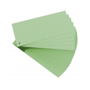 Separatoare 105x240 mm Office Point verde