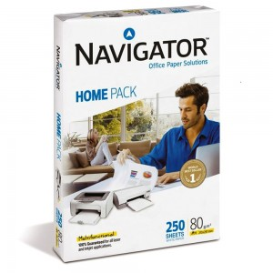 Hartie copiator A4 80g Navigator Home Pack